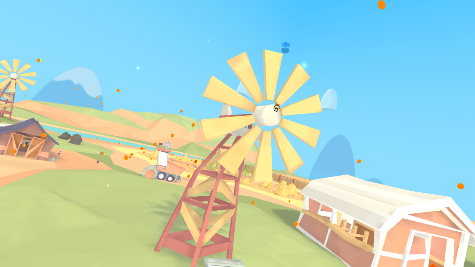 Funny Farm VR - Pollen Pursuit & By The Horns- screenshot