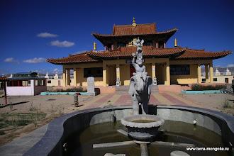 Photo: Дацан построен недавно и пока имеет свежий вид