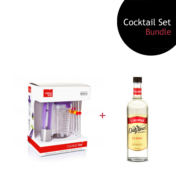 [Bundle] Cocktail Set + Coconut Syrup by ECIATTO GROUP SDN BHD