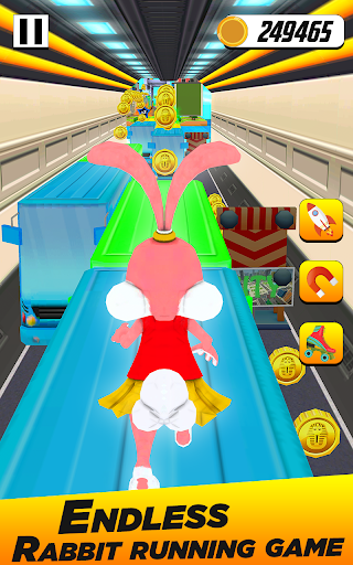 Bunny Runner: Subway Easter Bunny Run 3 screenshots 7