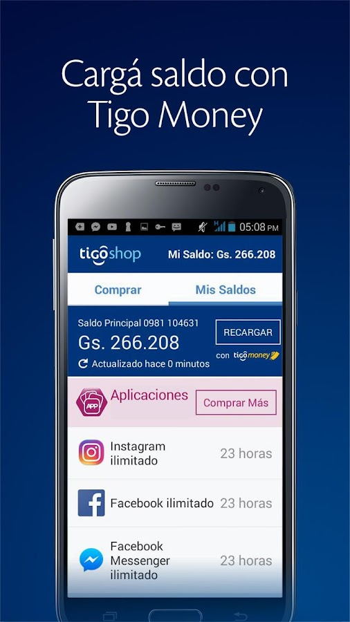 Tigo Shop- screenshot