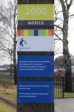 Photo: tussen Rijssen en Holten kun je verschillende route's van het Wereldtijdpad lopen