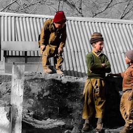 Busy boys by Fawad Hashmi - Babies & Children Children Candids (  )