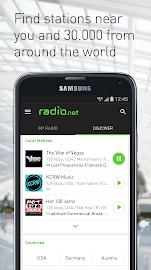 radio.net Screenshot 1