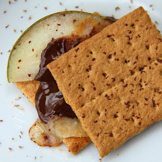 Pear and Honey Cheddar Smores