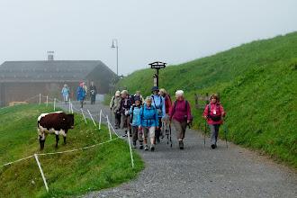 Photo: la petite troupe se met en marche