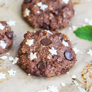 Mint Chocolate Chickpea Cookies – Healthy and Vegan.
