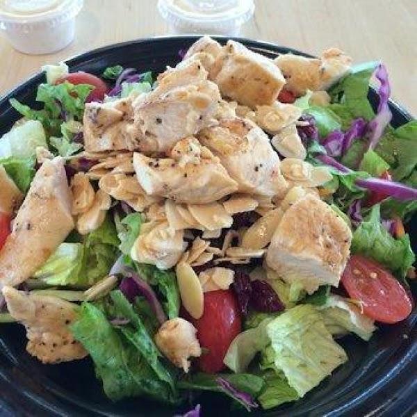 Garden Salad With Chicken Recipe