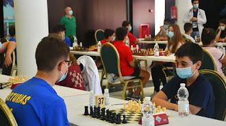 Vuelta del ajedrez en vivo.