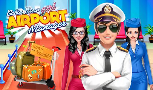 Cabine Avion équipage Girls: Airport Simulator Fun  captures d'écran 1