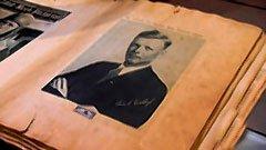 Lindbergh Scrapbook; Antique Toys thumbnail