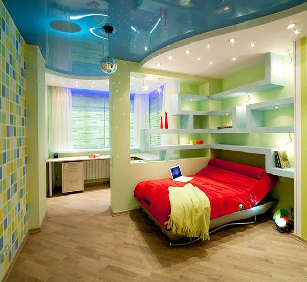 Thiết kế nội thất phòng ngủ bé trai hiện đại tạiLê Phạm Home