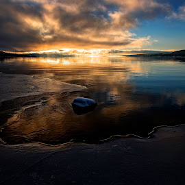 Just before sunset  by Svein Hurum - Landscapes Sunsets & Sunrises ( norway vinter )