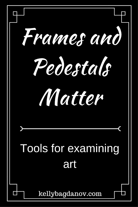Tools for examining art.