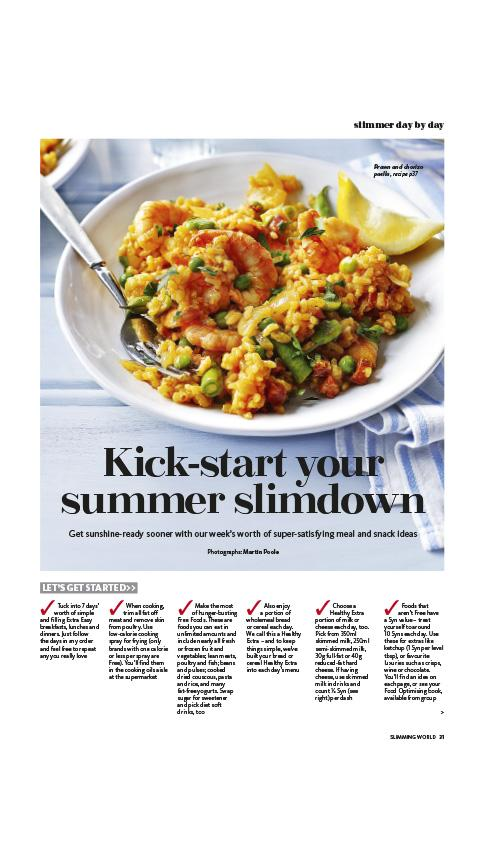 Slimming World Magazine - screenshot