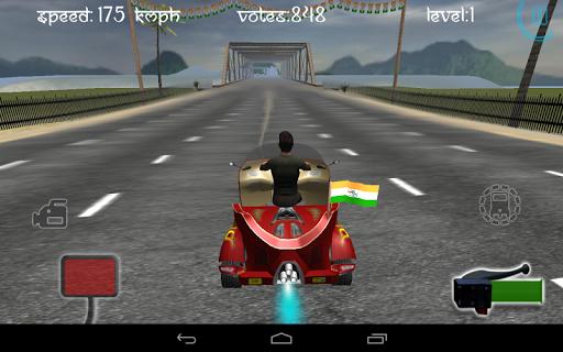 Race City Delhi- Rickshaw Rush screenshot 7
