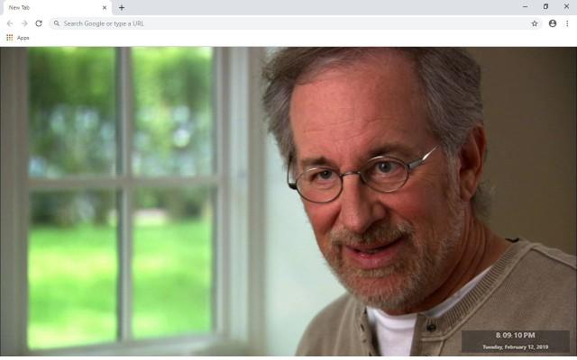 Steven Spielberg New Tab