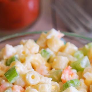 Mom's Macaroni Salad.