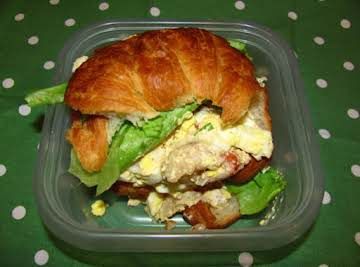 Lobster and Egg Salad Sandwiches
