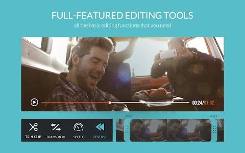 FilmoraGo - Free Video Editor screenshot 2