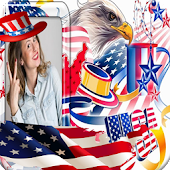 Happy 4th of July Photo Maker
