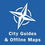 City Guides & Offline Maps  Icon