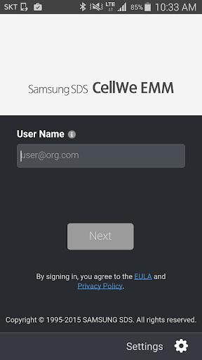 CellWe EMM