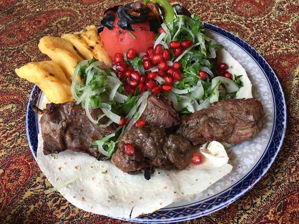 Azerbejdżan, kuchnia, mięso, kuchnia Azerbejdżanu, Dobre jedzenie w podróży