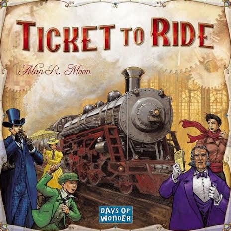 Ticket to Ride: (Original, English)
