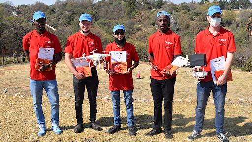 From left to right: Velile Mngoma, Braiden Kitching, Amanjee Moosa, Azwindini Mugari and Jayden Brink.