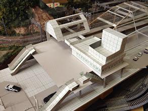 Photo: 第3案新駅舎プラン模型作成