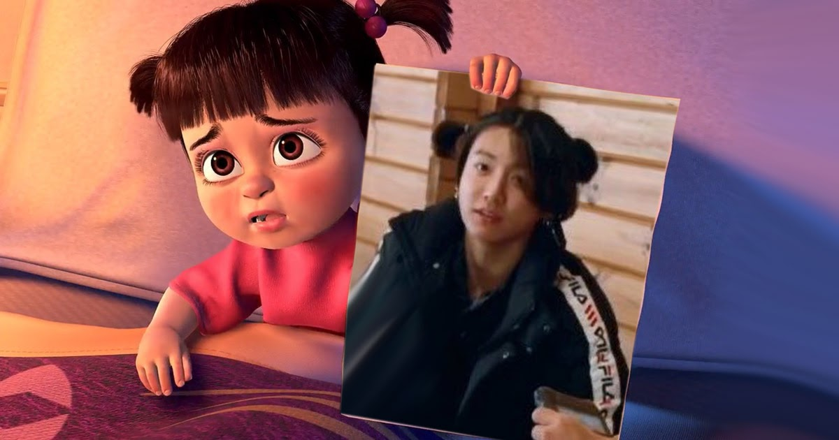 Bts S Jungkook Is Cuter Than Boo With His Teeny Tiny Pigtails