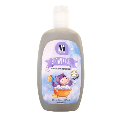 shower gel farmatodo bebe valeriana 230ml