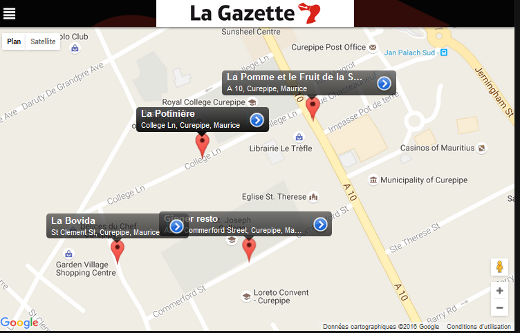 La Gazette App- screenshot