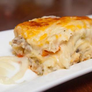 Luscious White Sauce Vegan Lasagna (Recipe)