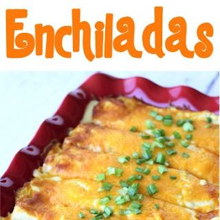 Easy Chicken Enchiladas Recipe!