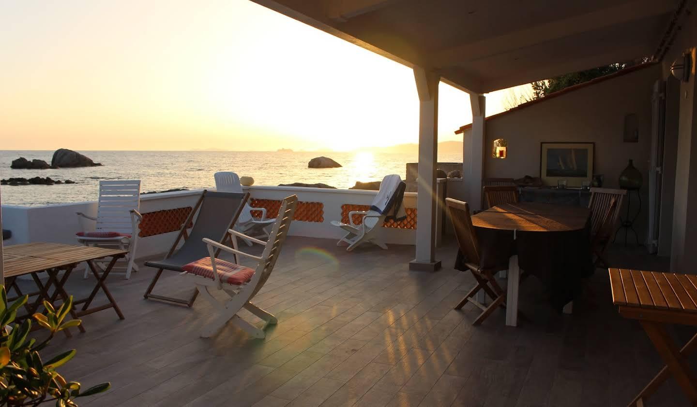 Villa en bord de mer avec jardin Porticcio