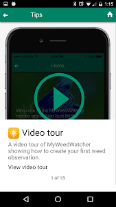 MyWeedWatcher screenshot 1
