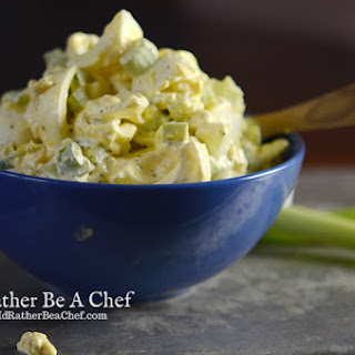 THE BEST EGG SALAD.