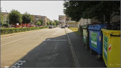 Photo: Turda, Str. Zambilelor, trotuar bun la toate nu si pentru destinatia normala a lui - 2019.07.17