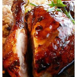 Jamaican Jerk Chicken.