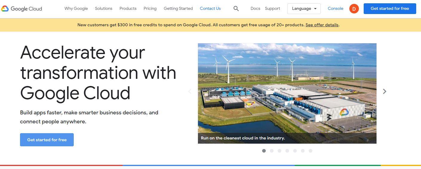 Google Cloud Windows Cloud Services