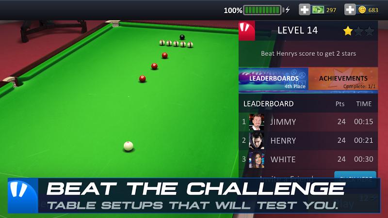 Snooker Stars - 3D Online Sports Game Screenshot 4