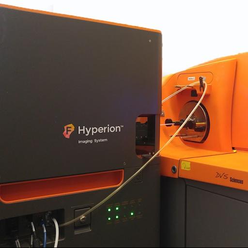 Imageur et cytomètre de masse Hyperion CyTOF de Fluidigm (CyPS)