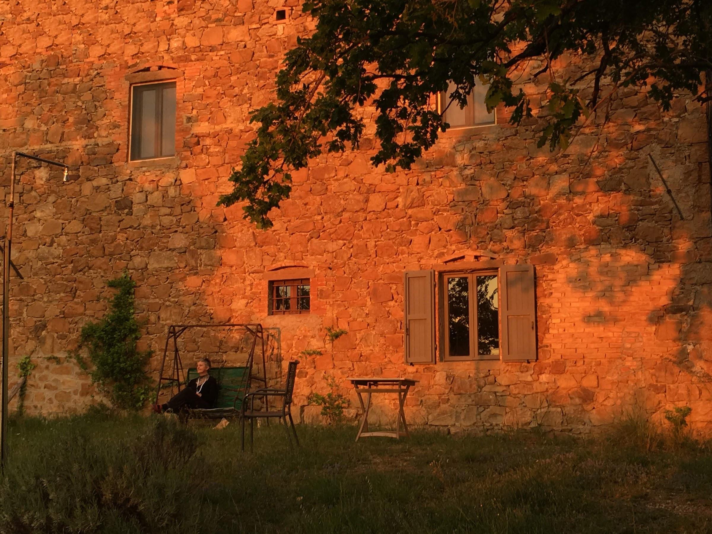 Thegolden lightand magic atmosphere of the Tuscan Maremma