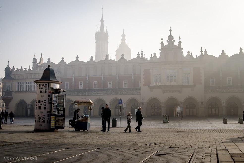Центр города, Краков