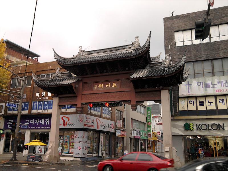 Photo: China Town'as. Nieko ypatingo nepastebėjau.