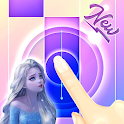 Let it Go - Elsa Piano Tiles Game icon