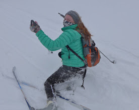 Photo: Katy O'Malley will need more practice if she hopes to make Ireland's downhill team.