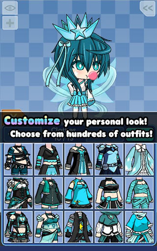 Pocket Chibi - Anime Dress Up - screenshot